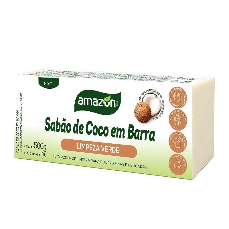 SABÃO DE COCO EM BARRA 500g